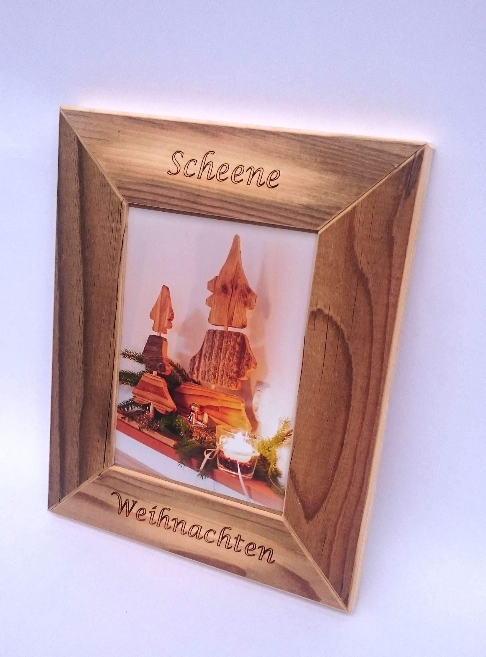 Individuelle Holz-Bilderrahmen von Altholz-Unendlich