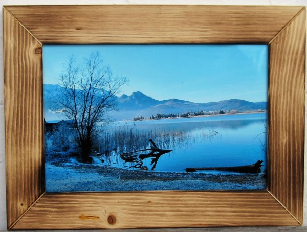 Einzelrahmen 20 x 30 cm Flamed-Wood