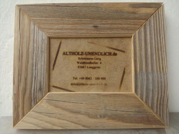 Einzelrahmen 9 x 13 cm - Unikat