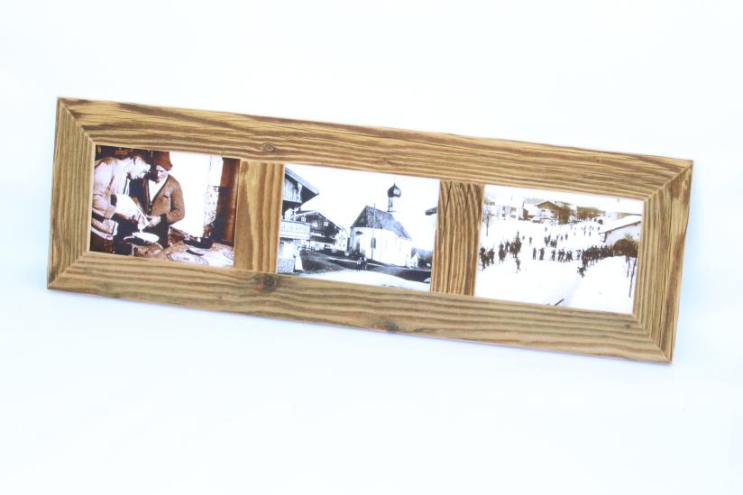 3er bilderrahmen altholz bilderrahmen individuelle holz bilderrahmen von altholz unendlich. Black Bedroom Furniture Sets. Home Design Ideas
